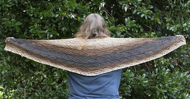 Cupcake shawl 2