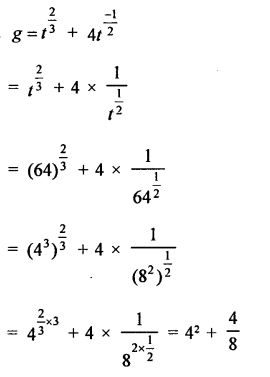 RD Sharma Class 9 Solutions Chapter 2 Exponents of Real Numbers MCQS - 27a