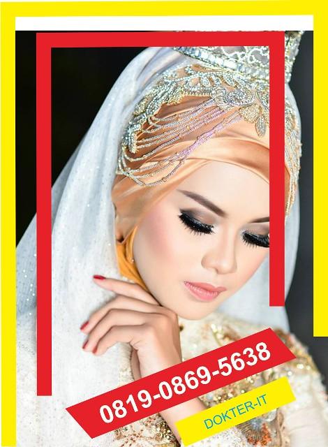 rias pengantin hijab keren