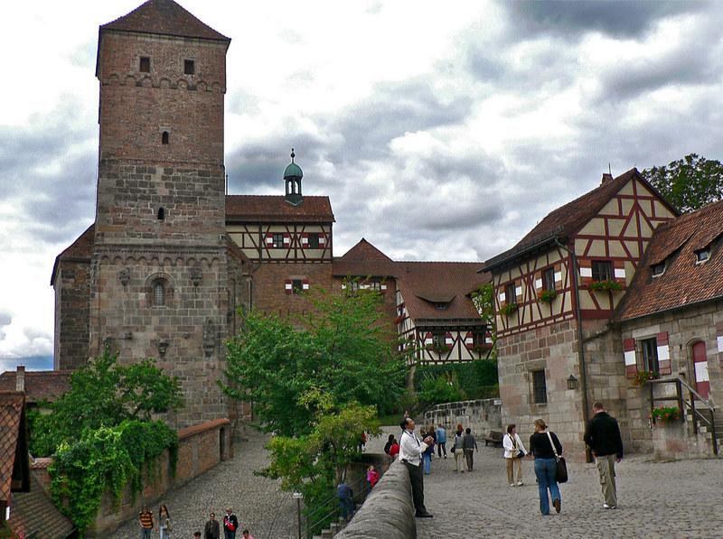 · Qué ver en Núremberg en un día · Castillo Imperial de Núremberg ·