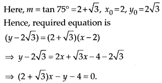 NCERT Solutions for Class 11 Maths Chapter 10 Straight Lines 21