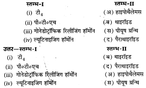 UP Board Solutions for Class 11 Biology Chapter 22 Chemical Coordination and Integration 9