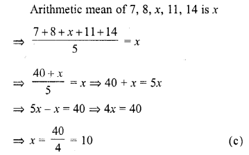 RD Sharma Class 10 Solutions Chapter 15 Statistics MCQS 29