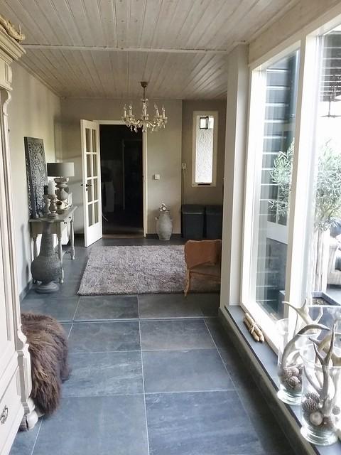 Hal bungalow landelijke stijl