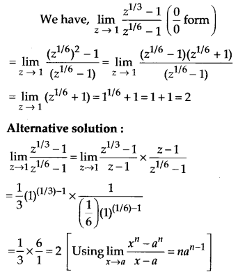 NCERT Solutions for Class 11 Maths Chapter 13 Limits and Derivatives 21