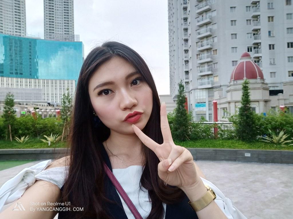 Realme U1 selfie