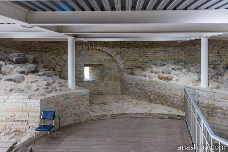 Воссозданная Раскатная башня, Старая Ладога