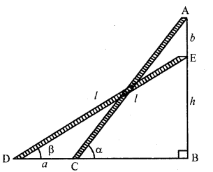 RD Sharma Class 10 Solutions Chapter 12 Heights and Distances Ex 12.1 - 70