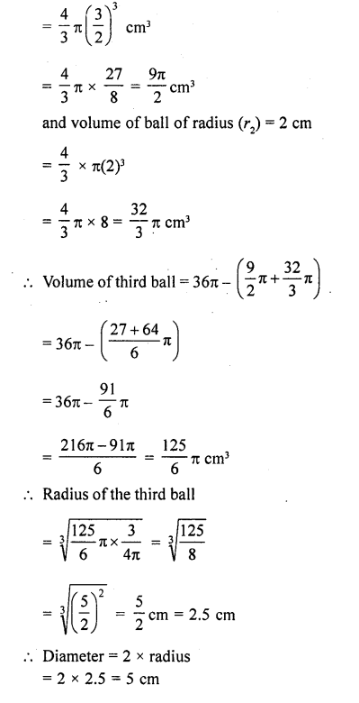 RD Sharma Class 10 Solutions Chapter 14 Surface Areas and Volumes Ex 14.1 27