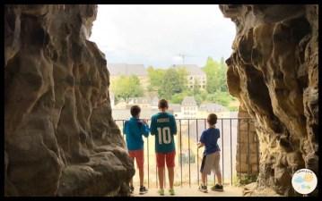 Luxemburgo con niños. Les Casemates Du Bock