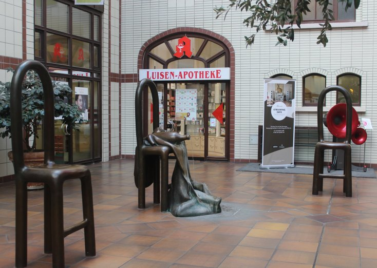 Louise shopping galleries, Hanover, Germany