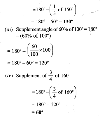 Selina Concise Mathematics Class 6 ICSE Solutions - Angles (With their Types) -b4s.