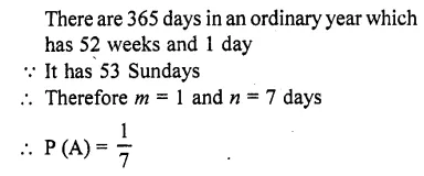 RD Sharma Class 10 Solutions Chapter 16 Probability Ex 16.1 51