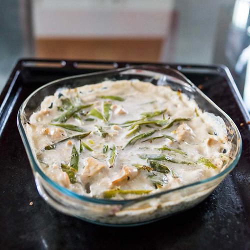 Keto Chicken Green Bean Casserole Recipe [Dairy-Free]