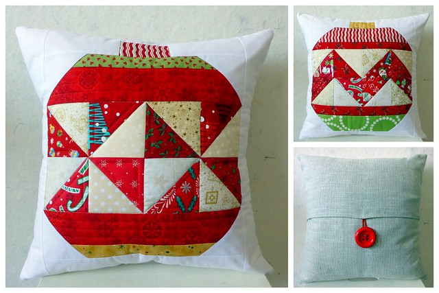 Christmas Baubles Cushions