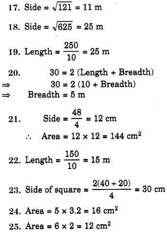 NCERT Solutions for Class 7 Maths Chapter 11 Perimeter and Area 87