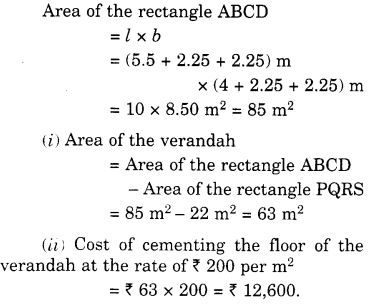 NCERT Solutions for Class 7 Maths Chapter 11 Perimeter and Area 62