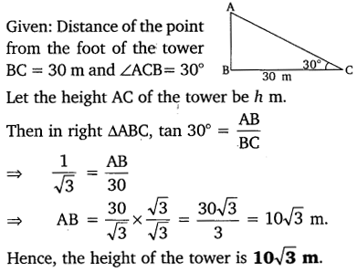 NCERT Solutions for Class 10 Maths Chapter 9 Some Applications of Trigonometry 5