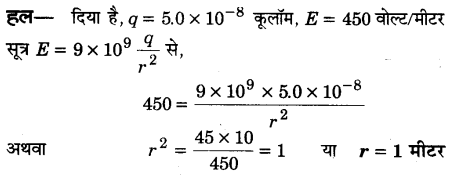 UP Board Solutions for Class 12 Physics Chapter 1 Electric Charges and Fields VSAQ 17