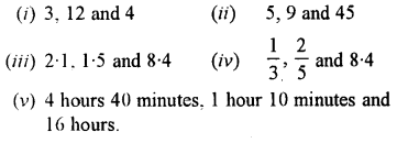 Selina Concise Mathematics class 7 ICSE Solutions - Ratio and Proportion (Including Sharing in a Ratio) -b2