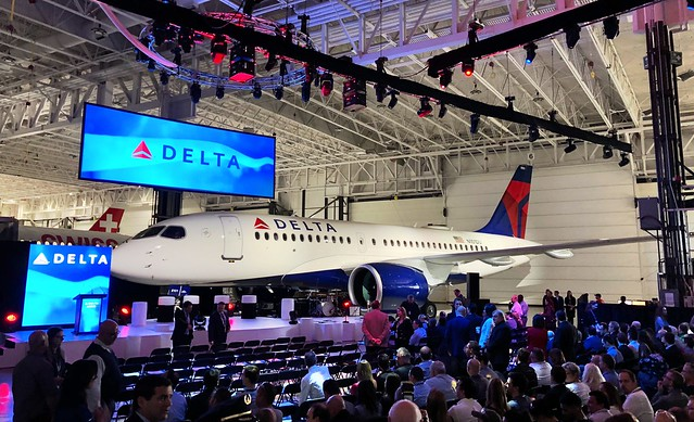 First Delta A220 delivery