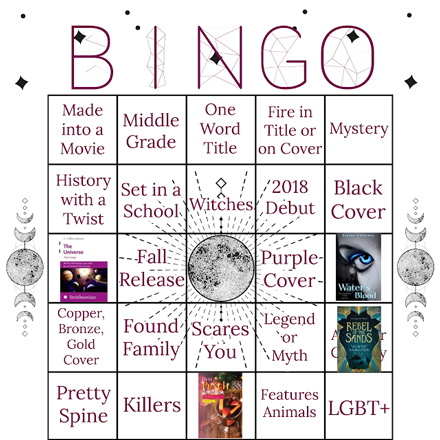 Autumn Book Bingo 2018
