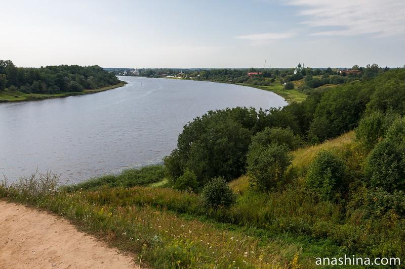 Река Волхов и Старая Ладога