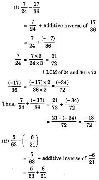 NCERT Solutions for Class 7 Maths Chapter 9 Rational Numbers 44