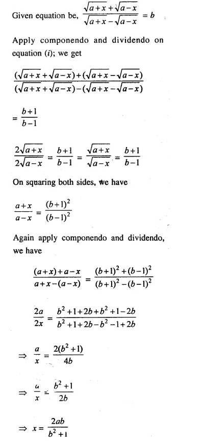 Selina Concise Mathematics Class 10 ICSE Solutions Chapterwise Revision Exercise 32A