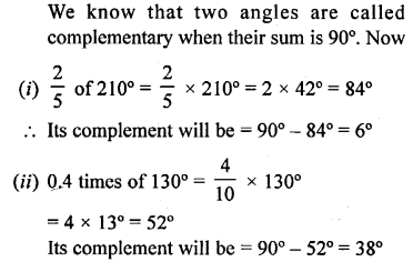 Selina Concise Mathematics Class 6 ICSE Solutions - Angles (With their Types) -r5s