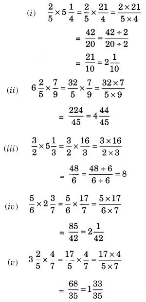 NCERT Solutions for Class 7 Maths Chapter 2 Fractions and Decimals 42