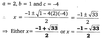 NCERT Solutions for Class 10 Maths Chapter 4 Quadratic Equations 17