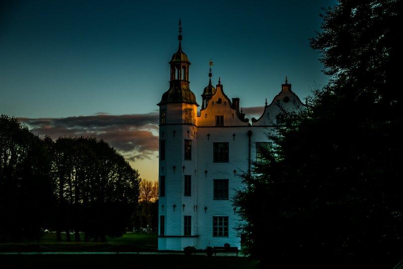 Schloss Ahrensburg am Abend
