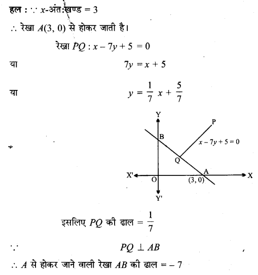 UP Board Solutions for Class 11 Maths Chapter 10 Straight Lines 10.3 8