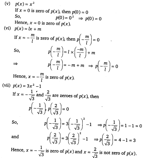 NCERT Solutions for Class 9 Maths Chapter 2 Polynomials 2
