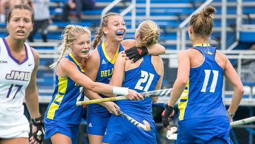 Delaware Storms Over Jmu In Caa Field Hockey Semifinals The Review