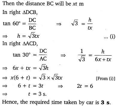 NCERT Solutions for Class 10 Maths Chapter 9 Some Applications of Trigonometry 25