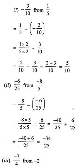 Selina Concise Mathematics class 7 ICSE Solutions - Rational Numbers-c6..
