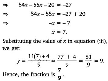 NCERT Solutions for Class 10 Maths Chapter 3 Pair of Linear Equations in Two Variables e3 3c