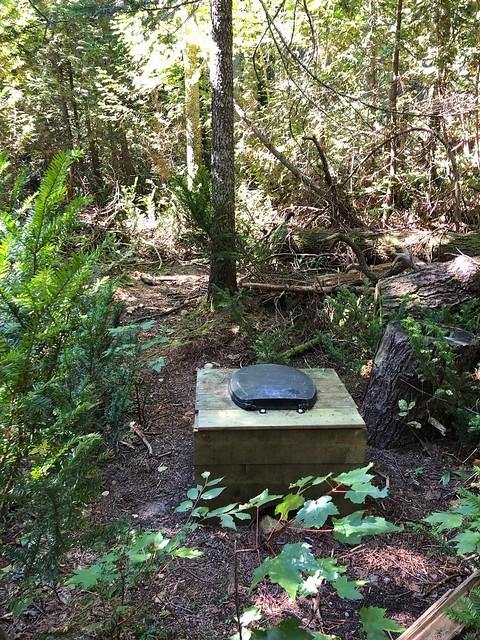 Lake Superior Park Sand River trail comode