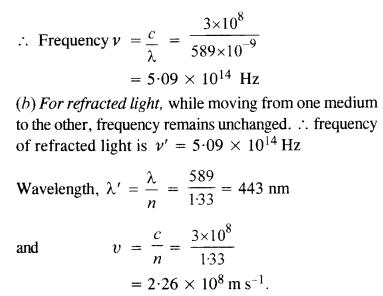 NCERT Solutions for Class 12 physics Chapter 10 Wave optics