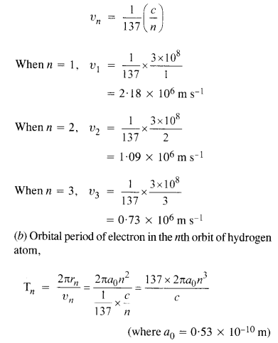 NCERT Solutions for Class 12 physics Chapter 12 Atoms.4