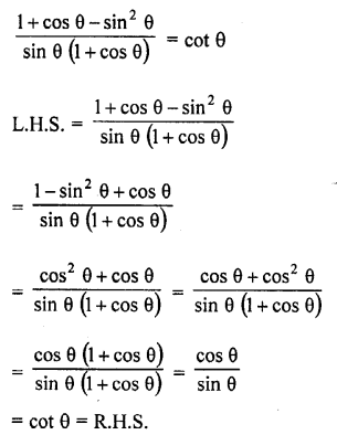 RD Sharma Class 10 Solutions Chapter 11 Trigonometric Identities Ex 11.1 - 46a