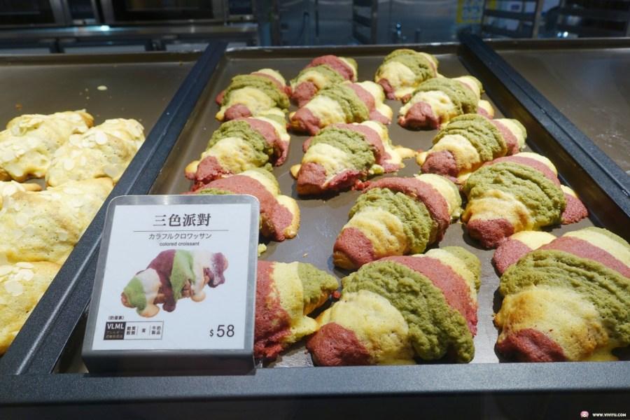 [林口美食]八月堂HAZUKIDO.MITSUI OUTLET PARK林口店~可頌麵包多種口味.10月底前六入享88折 @VIVIYU小世界