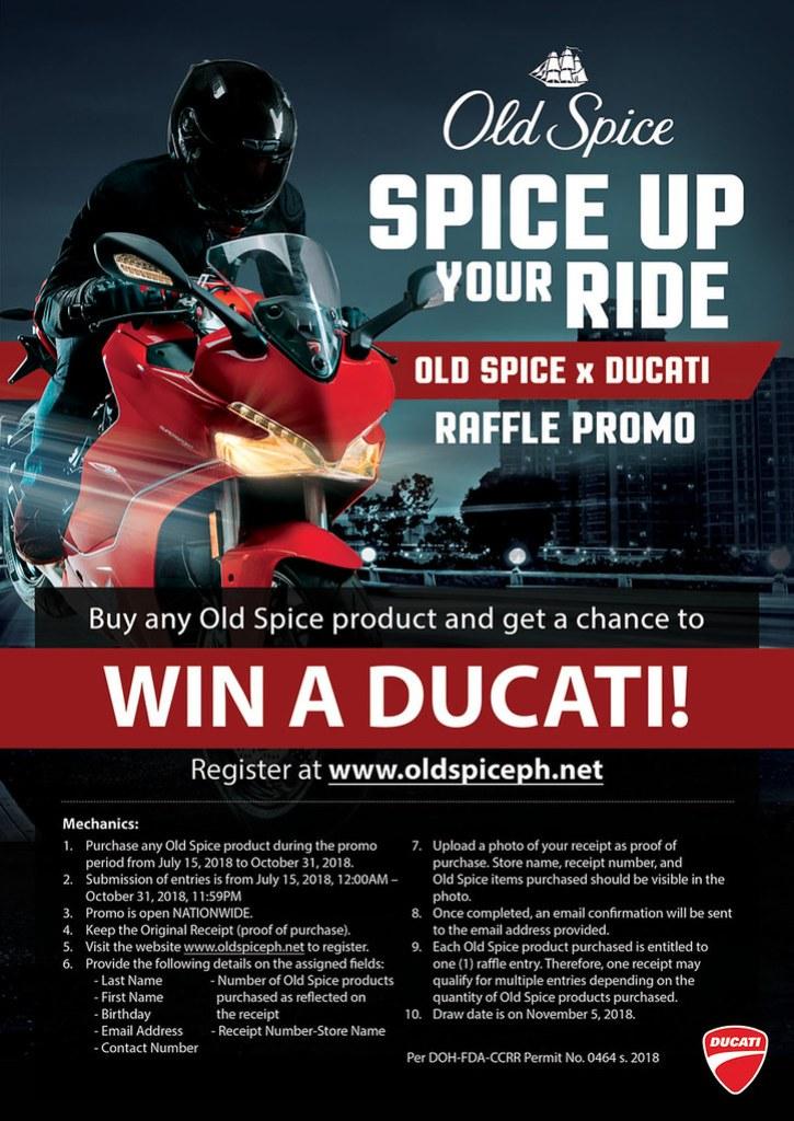 Old Spice Deodorant x Ducati (1 of 5)