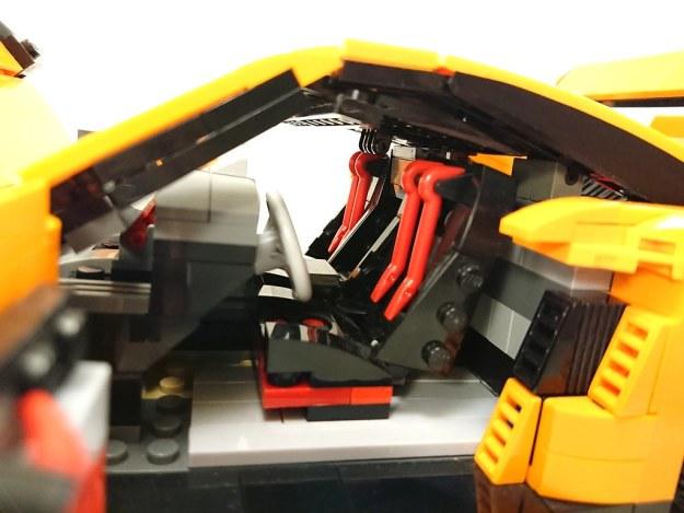 LEGO MOC Porsche 911 GT3 RS