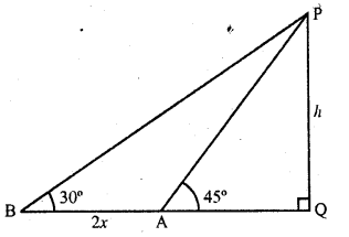 RD Sharma Class 10 Solutions Chapter 12 Heights and Distances Ex 12.1 - 35