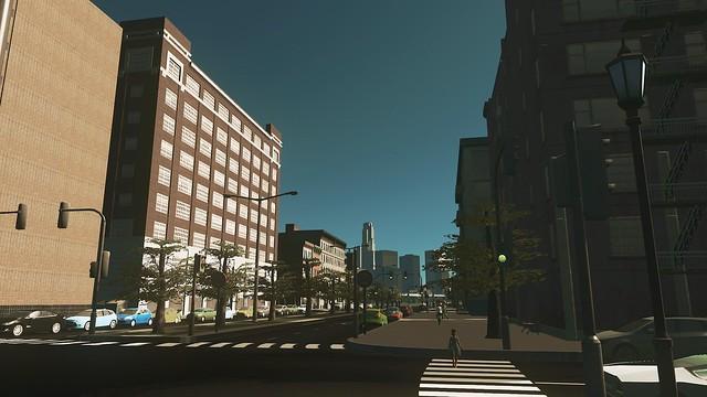 Města Skylines - na zemi