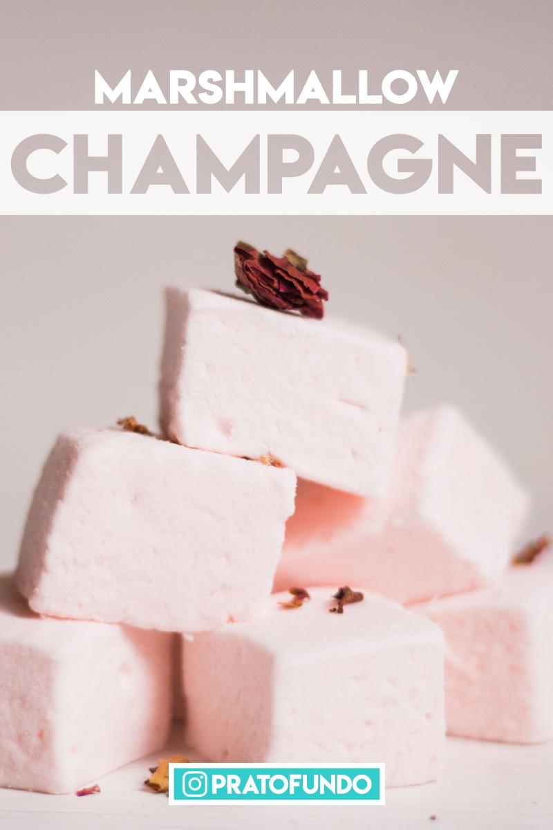 Marshmallow de Champagne por PratoFundo.com