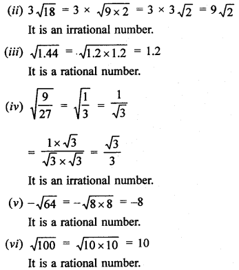 RD Sharma Class 9 Solutions Chapter 1 Number Systems - 1.4.4aa